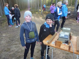To fornøyde juniorløpere