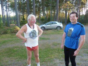 Jan og Bjørn klare for kveldens nulløp